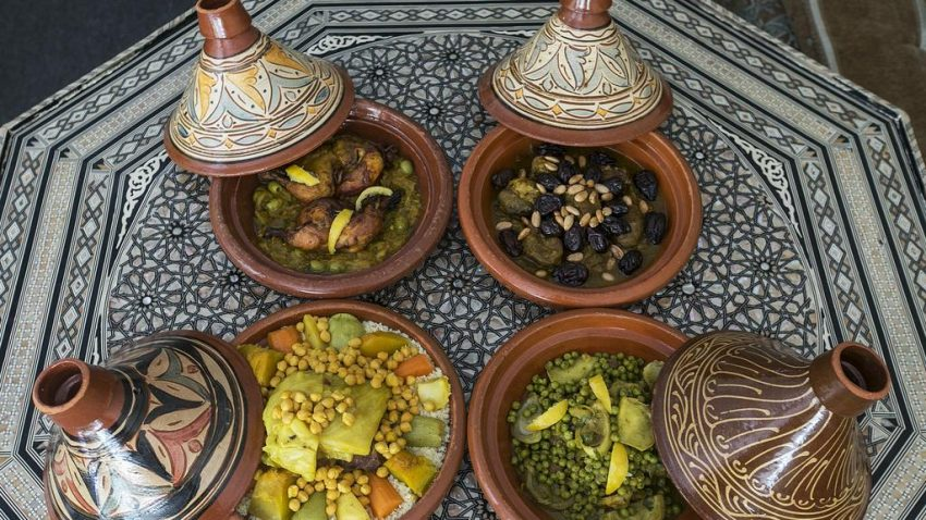Take a Moroccan cooking class and help us raise funds !