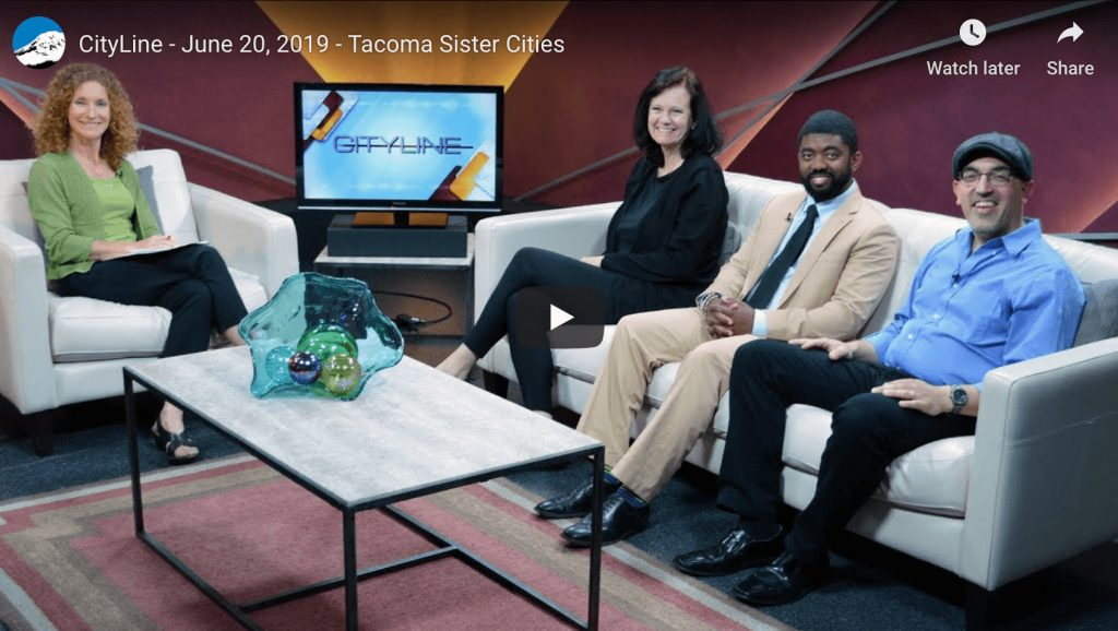 Tacoma Sister Cities on TV !