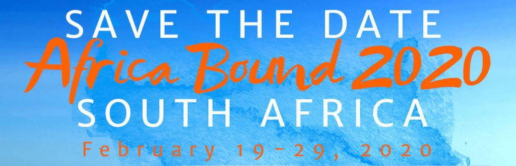 Visit Johannesburg, George and Cape Town, South Africa – February 19-29, 2020