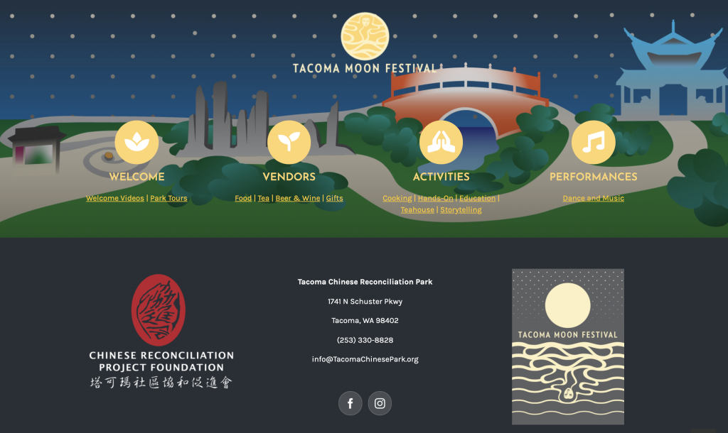 An exciting virtual Tacoma Moon Festival!