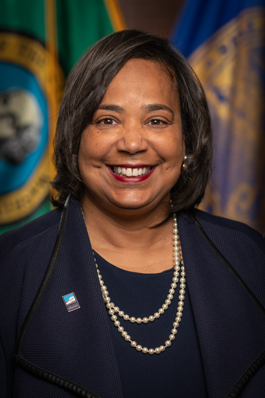 A thank you letter from Tacoma Mayor, Victoria R. Woodards